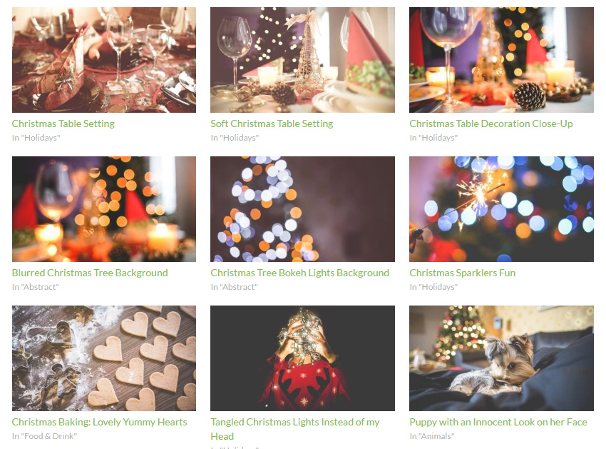 高品質のクリスマス無料画像